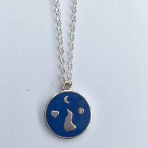 Block island sterling necklace